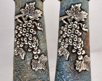 Very Old Silver 925 Candlesticks Designer By ( Domar Art ) Hand Made Art