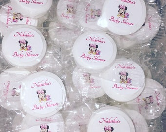 Superior Baby Shower Candy Favors, Girl Baby Shower Favors, Minnie Mouse Baby Shower  Favors, Personalized Baby Shower Candy
