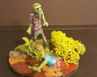Zombie Apocalypse miniature diorama #7