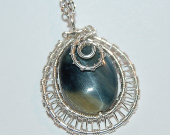 wire wrapped pendant Tutorial -step by step wire-wrapping Tutorial - making jewelry Iinstructions- wire pendant Tutorial - earrings