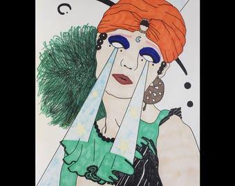 Surrealism Illustrated Art Print