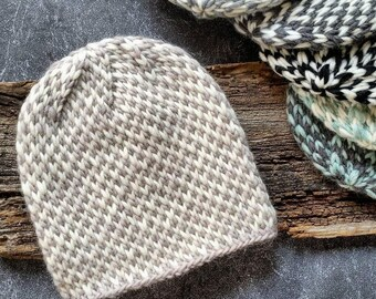 KNITTING PATTERN, Knit Hat Pattern, Chunky Knit Hat, Slouchy Beanie Pattern, Chunky Knit Pattern, Slouchy Hat Patterns, Knit Beanie Pattern
