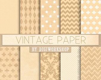 Blank Vintage Receipt Ledger Vintage Font Junk Journal