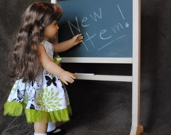 Doll Chalkboard/Dry Erase Board - Fits 18 Inch Dolls - Now Also in Pink