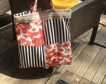 Poppy tote bag !
