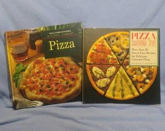 SALE! Pizza California Style Cookbook, Kolpas 1989 & Pizza 1993 (was 8.00)