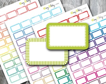 Half box Planner , Printable Planner, Printable Sticker, Erin Condren Planner Sticker