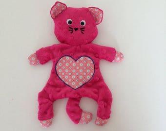 Pink kitten Plushie