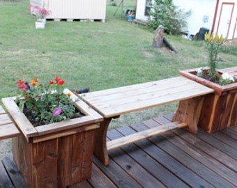 High Quality Flower Planters And Bench, Patio Furniture, Deck Furniture, Flower Planter,  Vegetable Planters, Flower Box