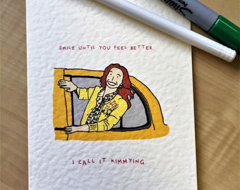 Kimmy Schmidt card
