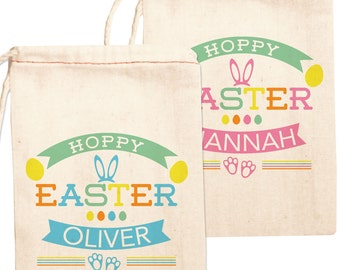 Anne on etsy easter bags easter treat bags easter bunny gift bags easter favor bags negle Gallery