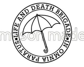 Life and Death Brigade Decal, Gilmore Girls, Stars Hollow