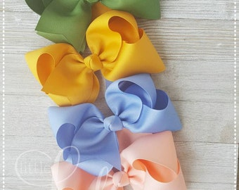 Camp MJC Release 2-Made Match Matilda Jane- hairbow bundle-bows for babies-Hairbows for girls-custom hairbows- bundle pack of 4- hair-bows--