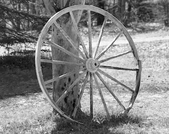Wagon Wheel Print