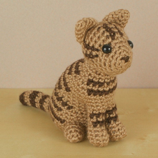 Pdf Amicats Tabby Cat Amigurumi Cat Crochet Pattern From