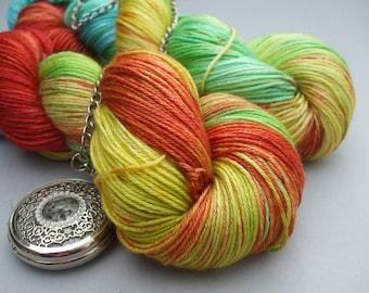 Luscious Sock Yarn. Macaw