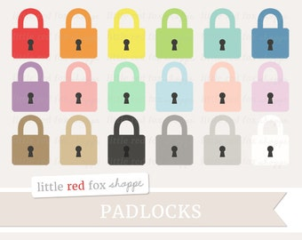 Padlock Clipart, Moving Clip Art, Lock Clipart, Skeleton Key Clipart, Old Key Clipart, Icon Cute Digital Graphic Design Small Commercial Use