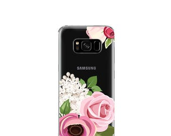 Blush Pink.Roses | Case For Samsung Galaxy S9 Plus | Floral | Samsung Galaxy S9 case | Samsung S8 Plus case | Samsung Galaxy S8 case| Note 8