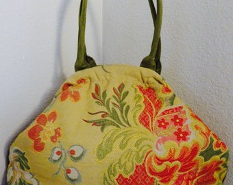 BEAUTIFUL Vintage 'Atenti' Tapestry Handbag MADE In USA - So Gorgeous!!!!