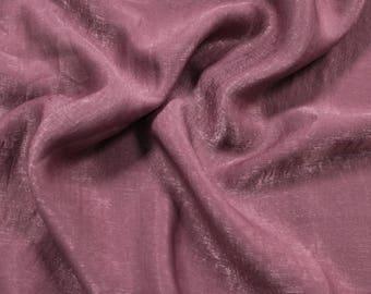 Mauve Dark Soft Poly Sand Wash Satin Fabric by the Yard - Style 682