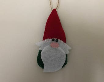 Gnome Christmas Ornament