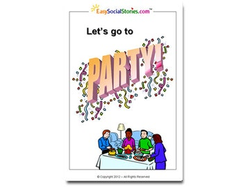 Let's Go to a Party Social Story