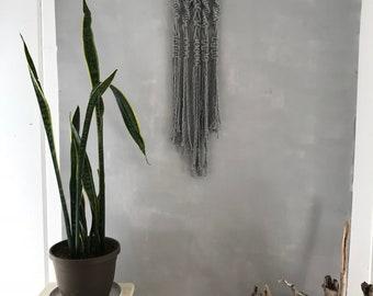 Fade Into You:  Macrame Wall Hanging