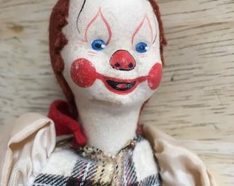 Vtng handmade clown