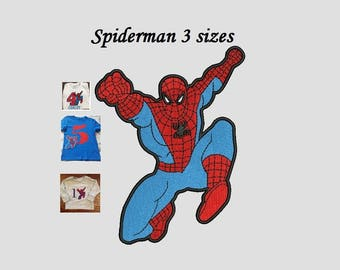 Spiderman Embroidery Design - 3,4,5 inch instant download