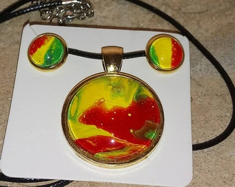 Original Handmade jewelry set