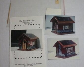 Flight School Birdhouse Painting Packet - Janice Miller