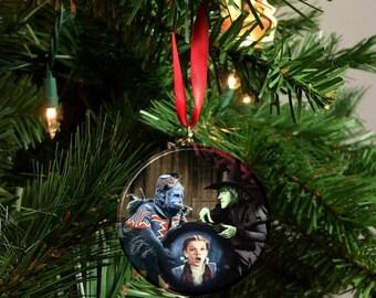 """Wizard of Oz Wicked Witch Monkey  2.25"""" Christmas Tree Ornament"""