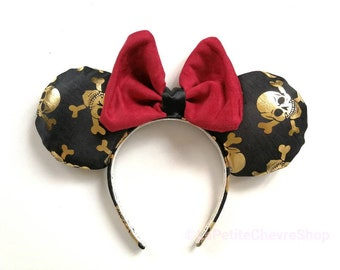 Pirate mouse - ears with pirate mouse ears
