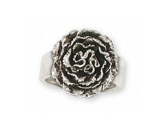 Carnation Ring Jewelry Sterling Silver Handmade Flower Ring CN2-R