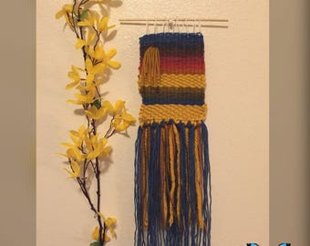 Journey - Hand woven wall hanging