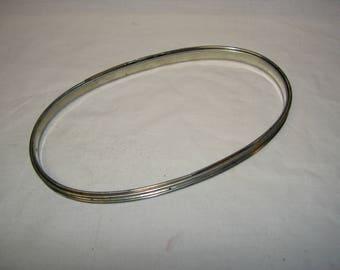Vintage Metal Oval Embroidery Hoop