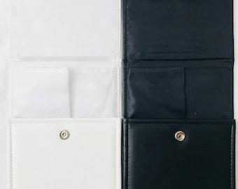 Pearl & Necklace Leatherette Folders