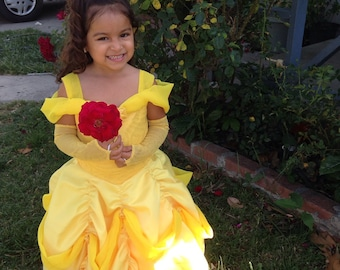 Belle Inspired dress (The Beauty and the Beast)