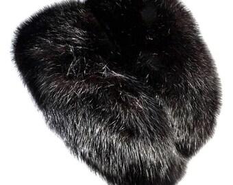 Vintage Dior Fur Hat - Christian Dior chapeaux Paris - New York