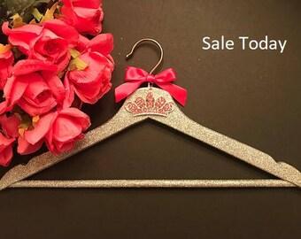 Bridal hanger,wedding hanger,bridesmaid hanger,bride hanger,wedding dress hanger,wedding hanger,personalized bridal hanger,Disney wedding