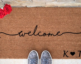 Exceptionnel Personalized Welcome Doormat   Welcome Mat   Welcome Door Mat   Cute Doormat    Funny Doormat   Personalized Doormat   Personalized Door Mat