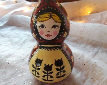 Little Red Riding Hood Gourd Doll