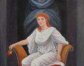 Ermes: On Hold Hades and Persephone - set of 2 paintings