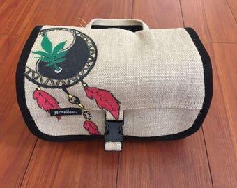 Hemp Toiletry Bag/ Stash Bag