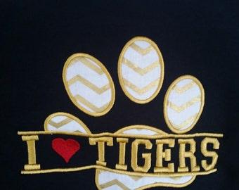 School Mascot Shirt - Team Shirt - School Spirit Shirt - Football Mascot - Team Mascot - Personalized Shirt - Personalized Sports