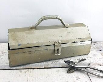 Vintage Silver Toolbox