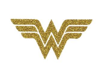 WONDER WOMAN Iron On Design, Girl Superhero Costume, Superhero Cape, Wonder Woman Shirt, Birthday Party, Halloween and Dress Up