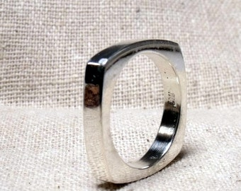 Stacker ring in Sterling Silver RF348