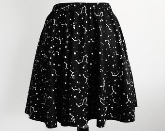 Constellation Space Skater Skirt - Size S-3X