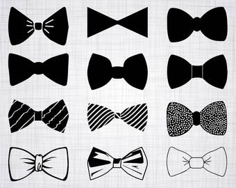 Bow Tie SVG Bundle, Bow Tie SVG, Bow Tie Clipart, Bow Tie Cut Files For Silhouette, Files for Cricut, Vector, Bowtie Svg, Dxf, Png, Decal